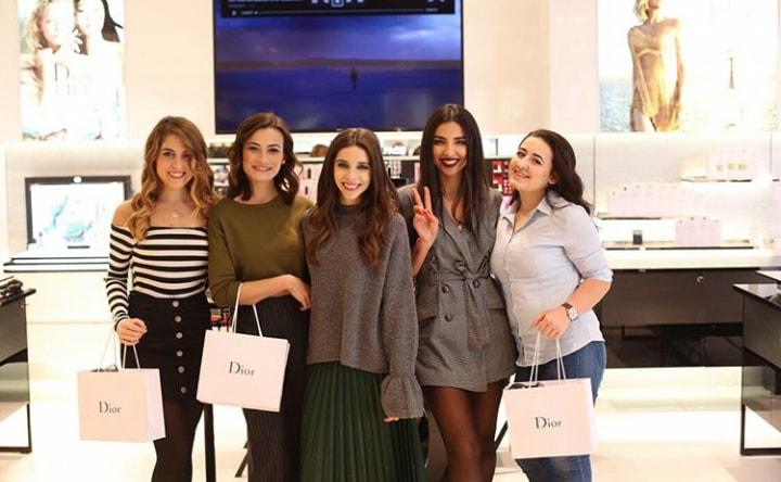 Galeries Lafayette'de Dior Günü