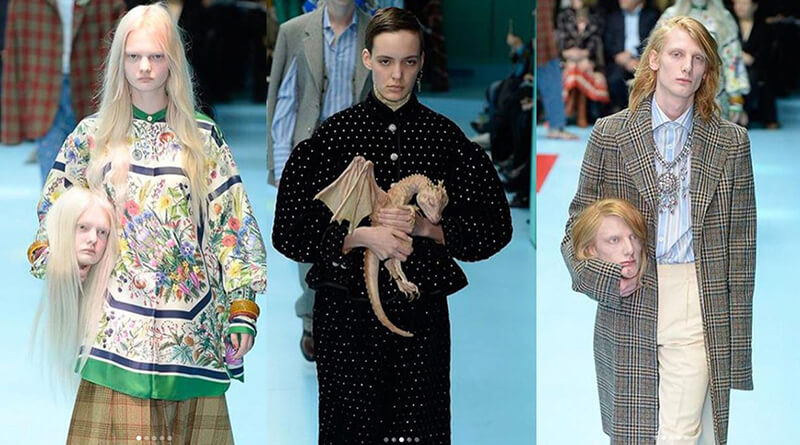 GUCCI 'DEN HAFIZALARA KAZINACAK OLAY YARATAN DEFİLE | Fashionziner
