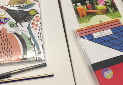 Fashionziner Atelier, Paper Street Co Ajandaları ile Renklendi