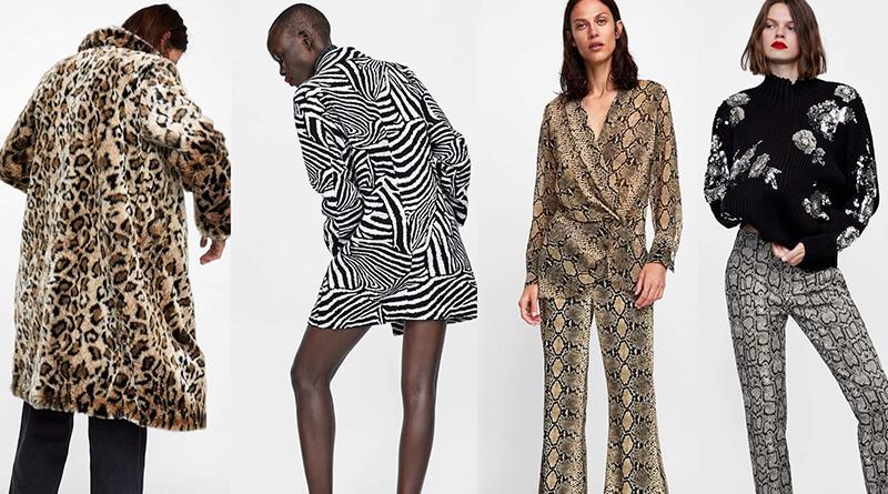 Modada Vahşi Doğa İzleri Animal Print